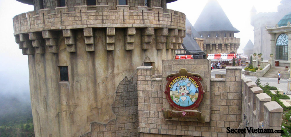 Ba Na Hills Mountain European Theme Park