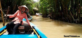 Ben Tre a coastal province in Mekong Delta