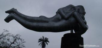 Bizarre Sculptures in Perfume River