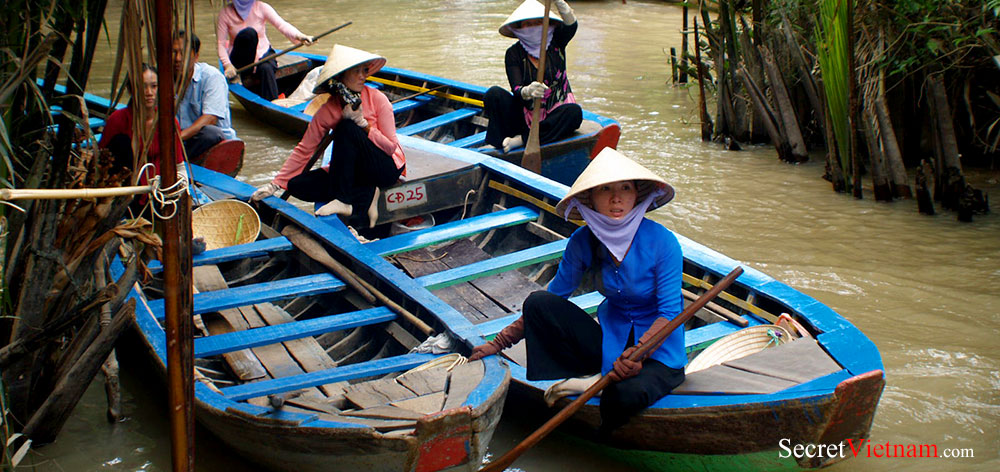 Can Tho (Cần Thơ) the largest city in the Mekong Delta