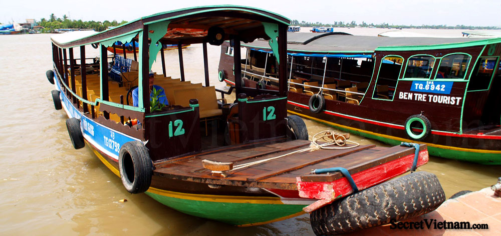 Chau Doc a city in the heart of the Mekong Delta