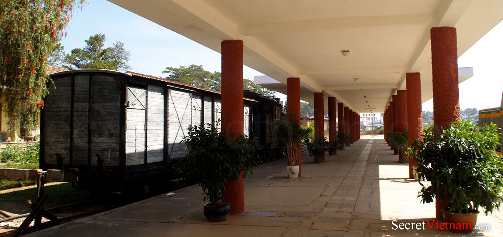 Dalat Railway Station or the Cremaillere Station