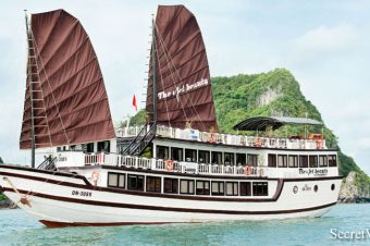 Mysterious Nights Halong Bay stay one night on The Viet Beauty Cruise