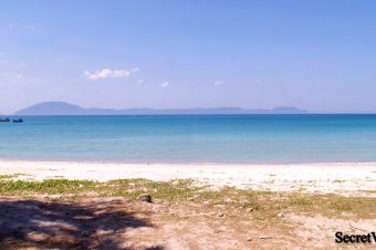 Jungle Beach about 60 km north of Nha Trang City