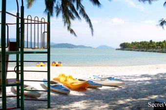 Nhu Tien Beach in Diamond Bay Resort & Spa