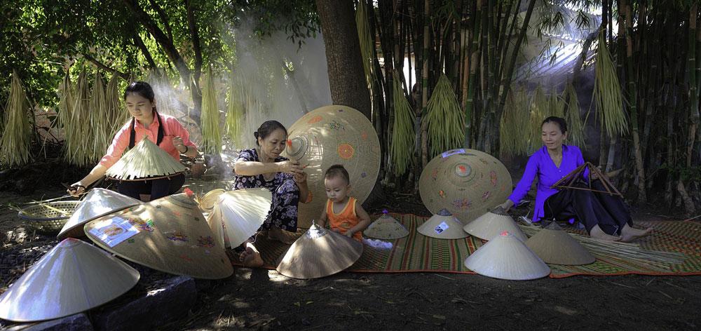 Phu Vinh bamboo & Rattan Village