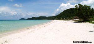 Sao, White Sand Beach or Bai Sao, on the south east corner