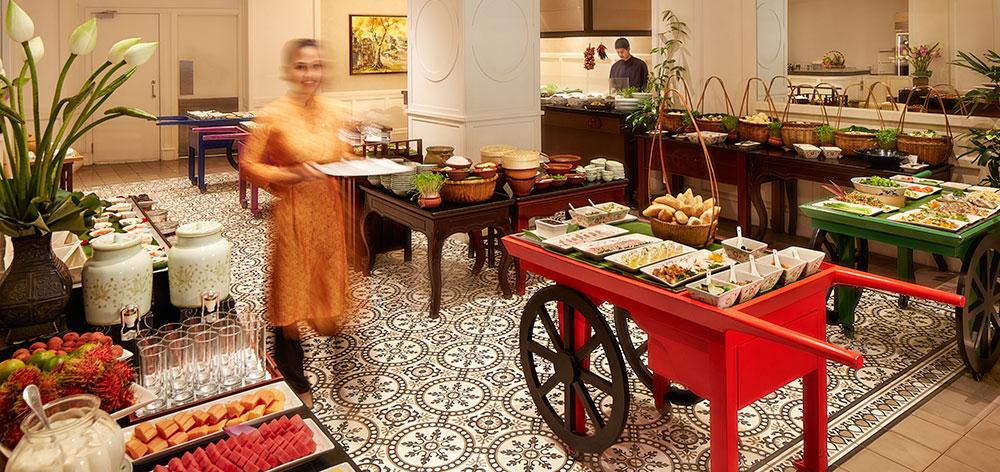 Spices Garden Vietnamese Restaurant at Sofitel Legend Metropole Hanoi