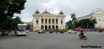 The Hanoi Opera House, French colonial building
