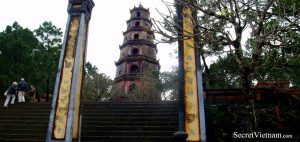 Thien Mu Pagoda, a historic temple in the city of Hue