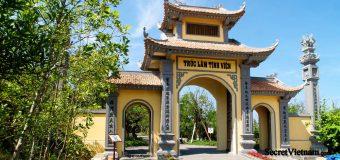 Truc Lam Pagoda Ho Tre Island