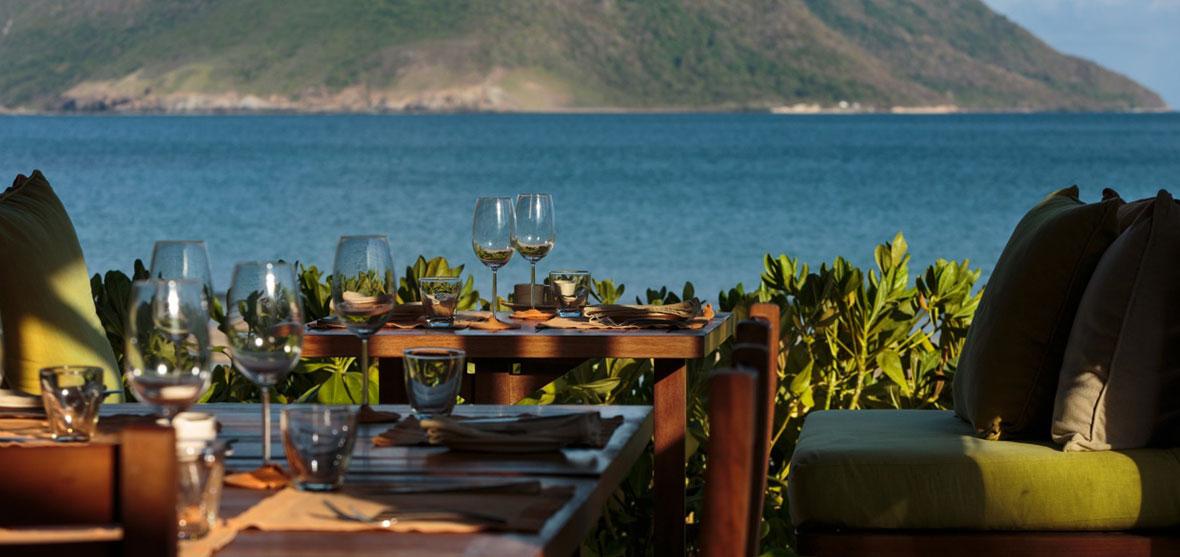 By the Beach Restaurant, Six Senses Con Dao