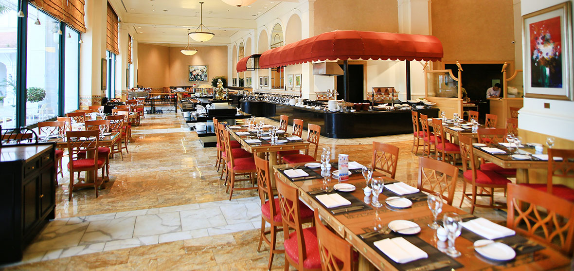 Café Promenade, Hanoi Daewoo Hotel