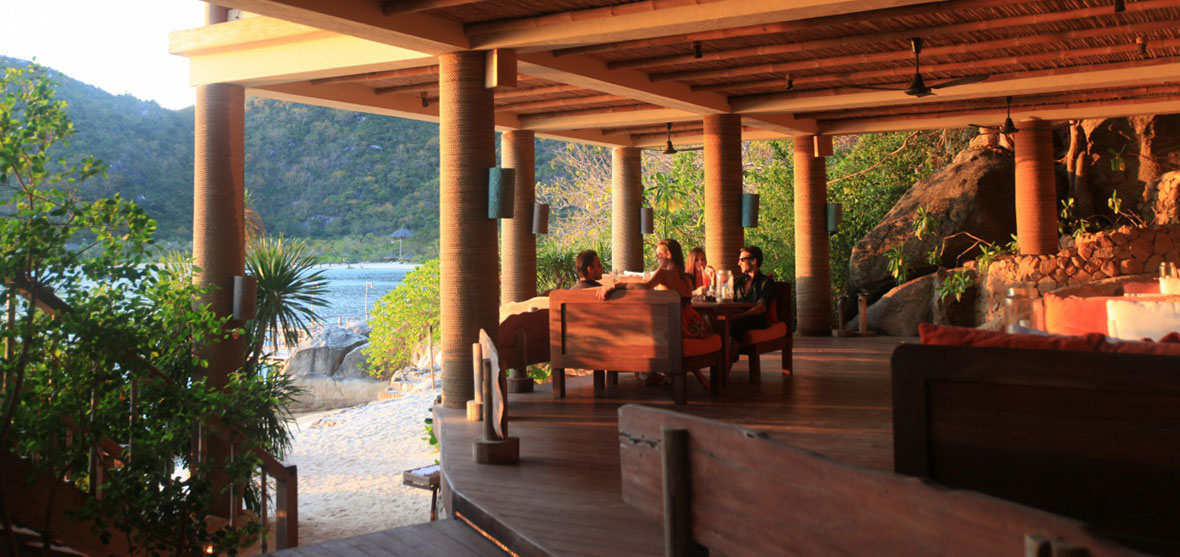 Dining by the Bay, Main Restaurant, Six Senses Ninh Van Bay