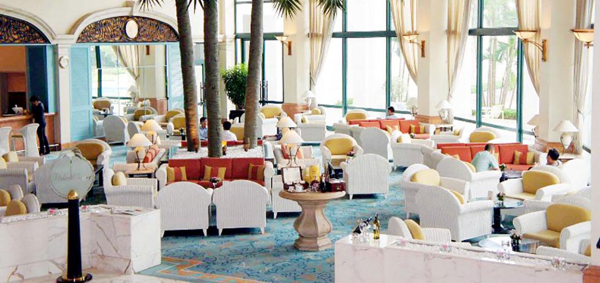 Palm Court Restaurant, Hanoi Daewoo Hotel