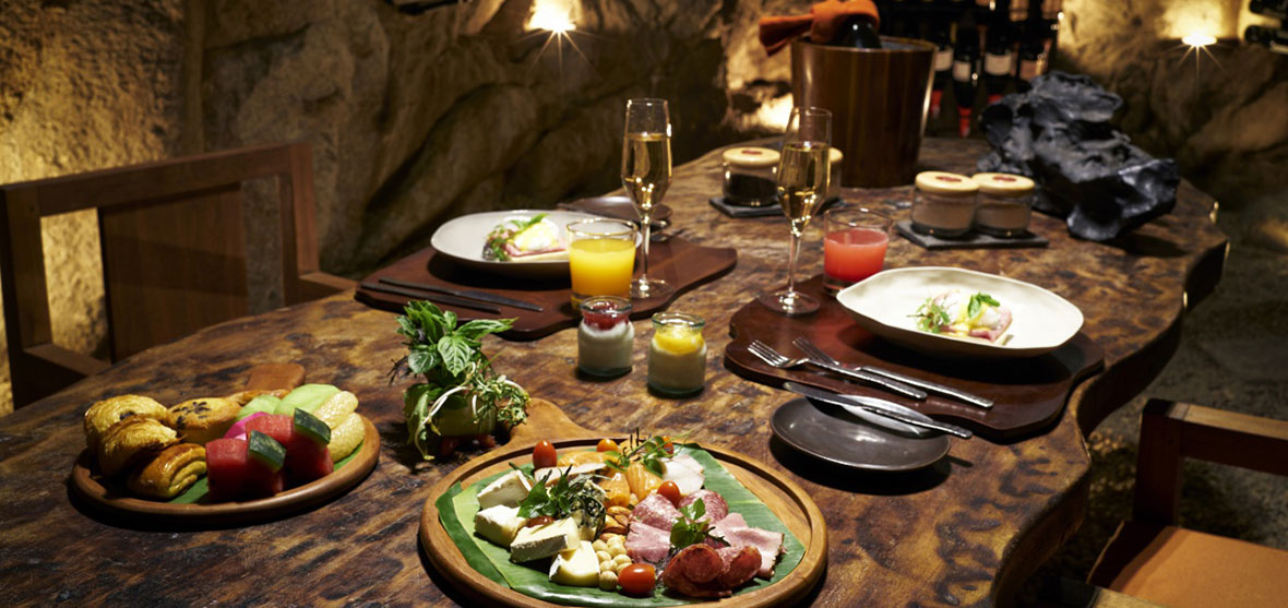Dinner in the Wine Cave, Romantic Dinner, Six Senses Ninh Van Bay