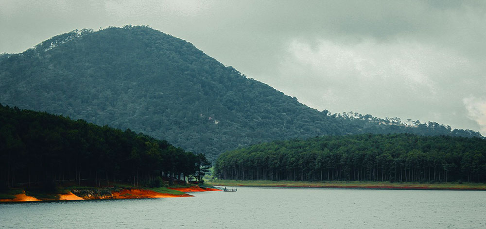 Tuyen Lam Lake in Dalat