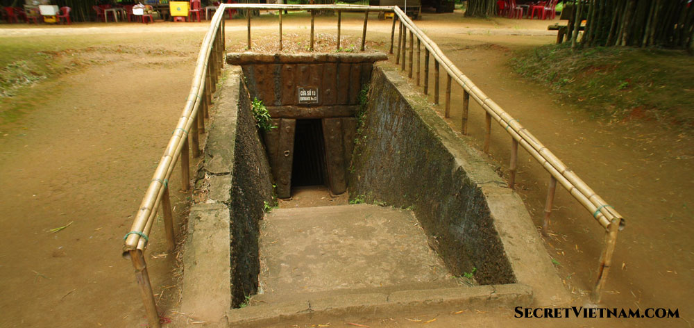 The history relic of Vinh Moc Tunnel