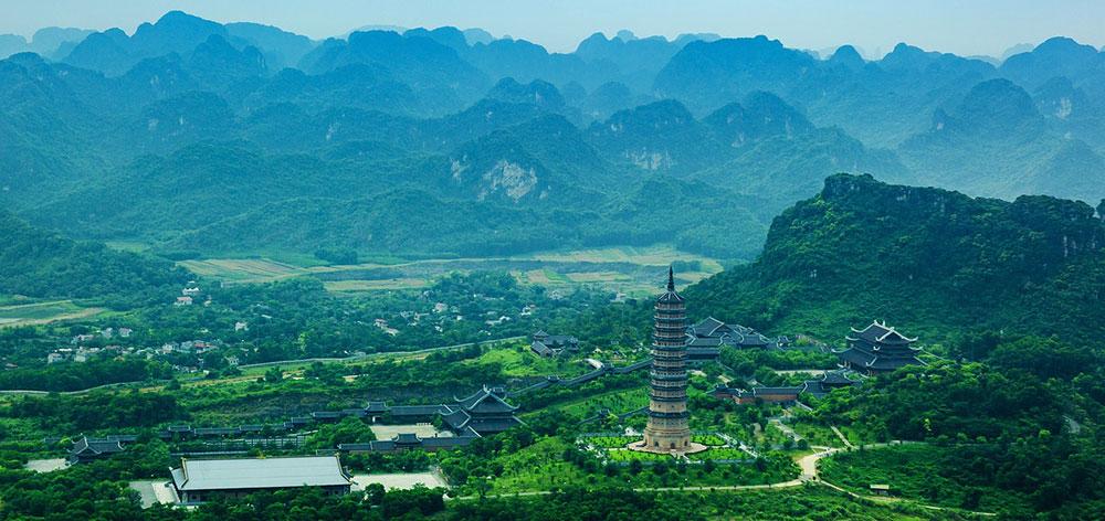 Bai Dinh Pagoda, a complex of Buddhist temples