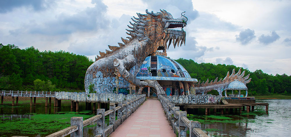 Thuy Tien lake Abandoned Water Park