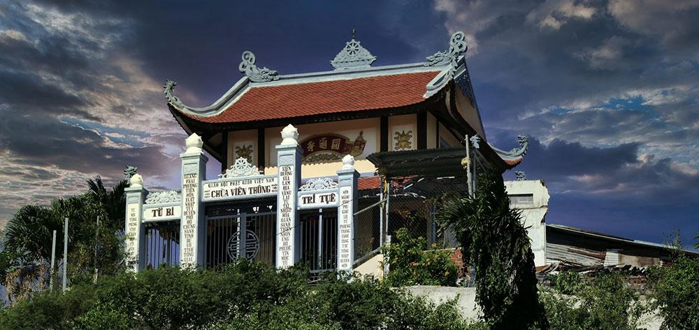 Chùa Viên Thông Pagoda in Nha Trang, Vietnam