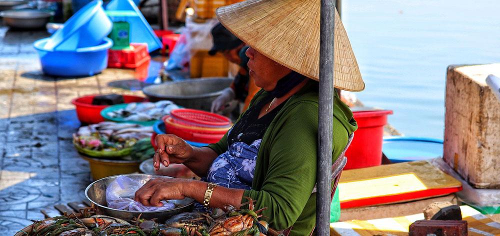 Vuon Chuoi Market in Saigon