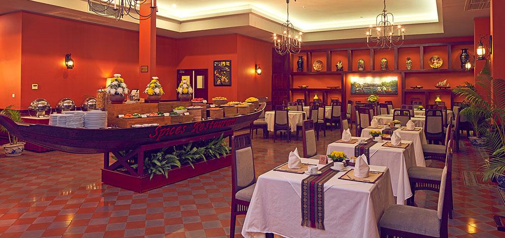 The elegant Spices Restaurant
